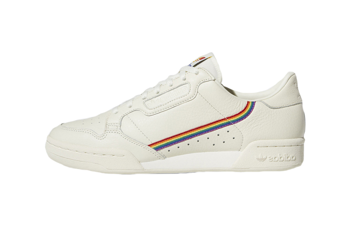 "adidas Continental 80 ""Pride"" White EF2318 01"