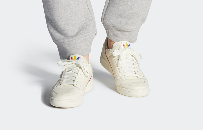 "adidas Continental 80 ""Pride"" White EF2318 02"