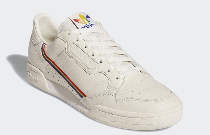 "adidas Continental 80 ""Pride"" White EF2318"