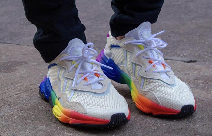 """adidas Ozweego """"Pride Pack"""" White EG1076"""