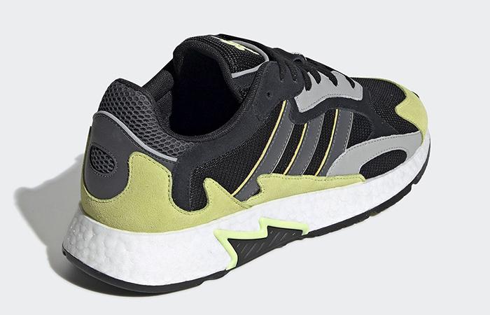 adidas Run Black Yellow EF0766