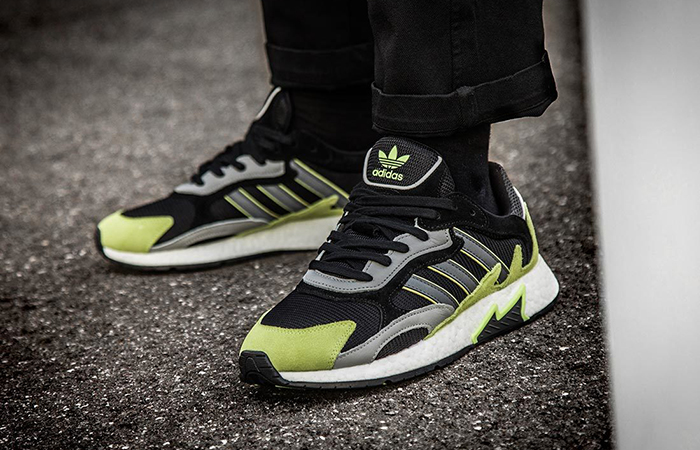 adidas Tresc Run Black Yellow EF0766 03