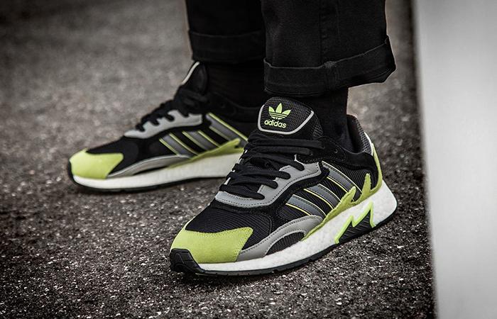 adidas Tresc Run Black Yellow EF0766 03