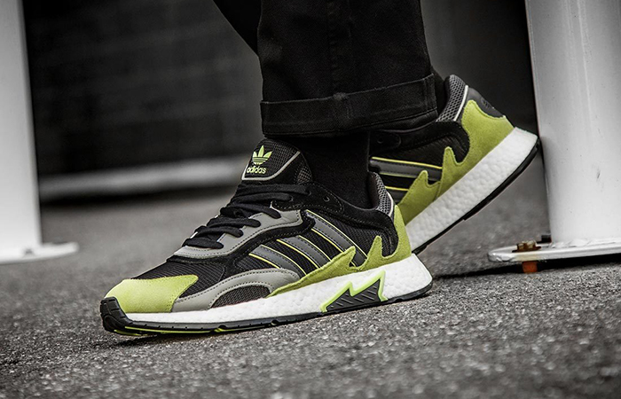 adidas Tresc Run Black Yellow EF0766
