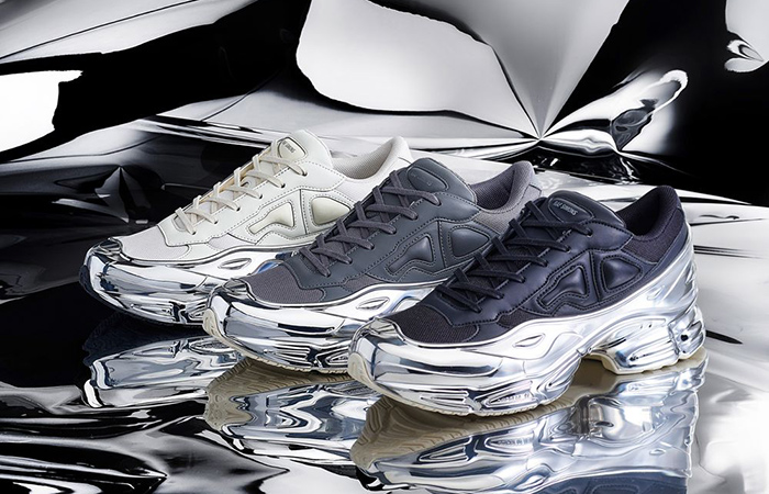 adidas by Raf Simons' RS Ozweego Receving The Chrome Look ft