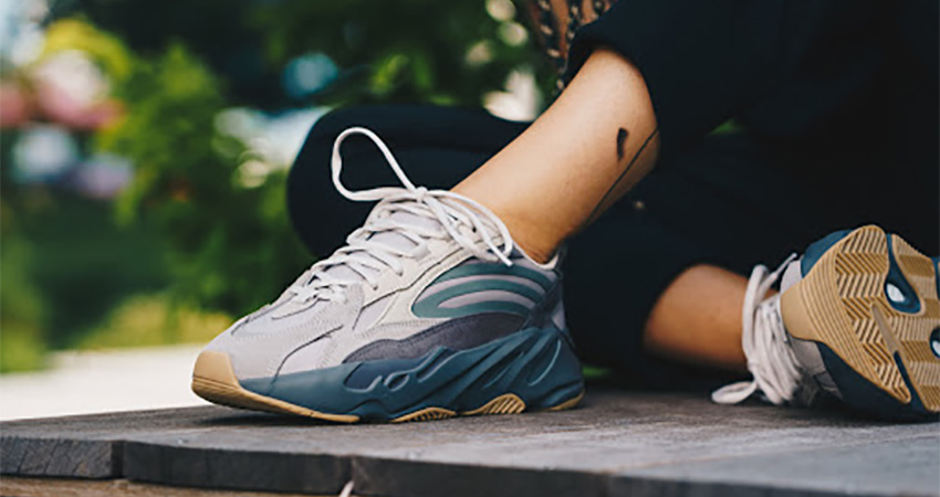 A Complete Store and Raffle List Of adidas Yeezy Boost 700 V2 Tephra on foot 01