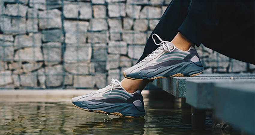 A Complete Store and Raffle List Of adidas Yeezy Boost 700 V2 Tephra on foot 02