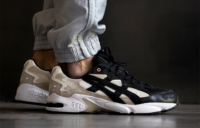 ASICS Tiger Gel-Kayano Black Cream 1021A167-100 02