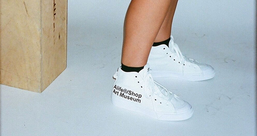 Alife And adidas Contrumarism Teamed Up For The The Nizza Hi 'Artist Proof' 01