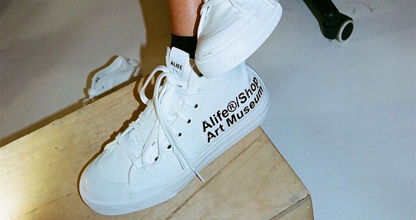 Alife And adidas Contrumarism Teamed Up For The The Nizza Hi 'Artist Proof' 02