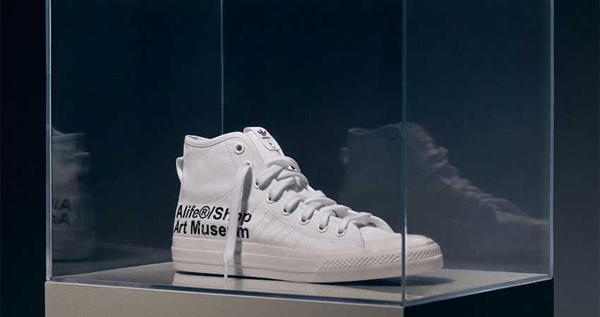 Alife And adidas Contrumarism Teamed Up For The The Nizza Hi 'Artist Proof' 03