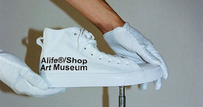 Alife And adidas Contrumarism Teamed Up For The The Nizza Hi 'Artist Proof' 04