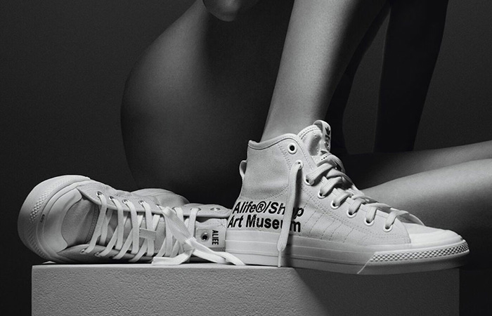 Alife And adidas Contrumarism Teamed Up For The The Nizza Hi 'Artist Proof' ft