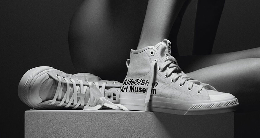 Alife And adidas Contrumarism Teamed Up For The The Nizza Hi 'Artist Proof'