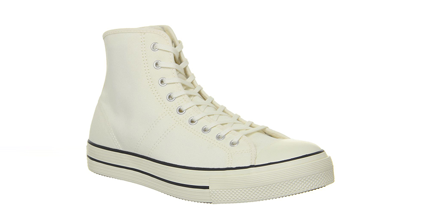 Converse Lucky Star Hi Trainers Egret