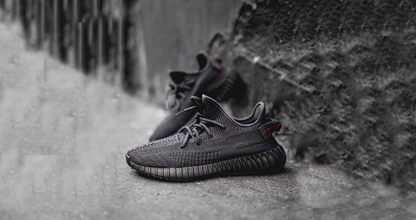 Detailed Look At The adidas Yeezy 350 V2 Core Black 01
