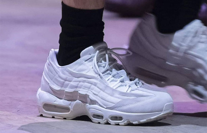 Few Snaps Of The COMME des GARÇONS Nike Air Max 95 ft