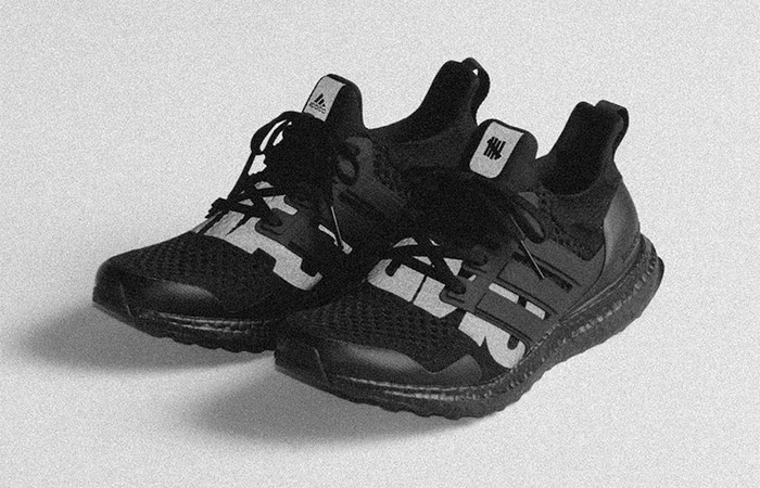 Here Is The First Look And Release Date Of Undefeated adidas Ultra Boost Blackout ft