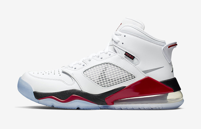 Here Is The Official Images Leaked For The Jordan Mars 270 Fire Red ft