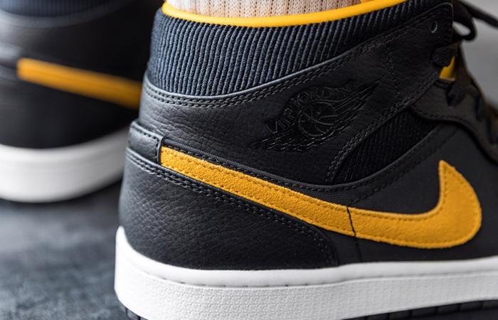 Jordan 1 Mid SE Black Gold CI9352-001
