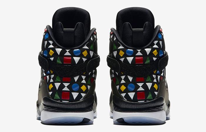 Jordan 8 Quai 54 Black CJ9218-001