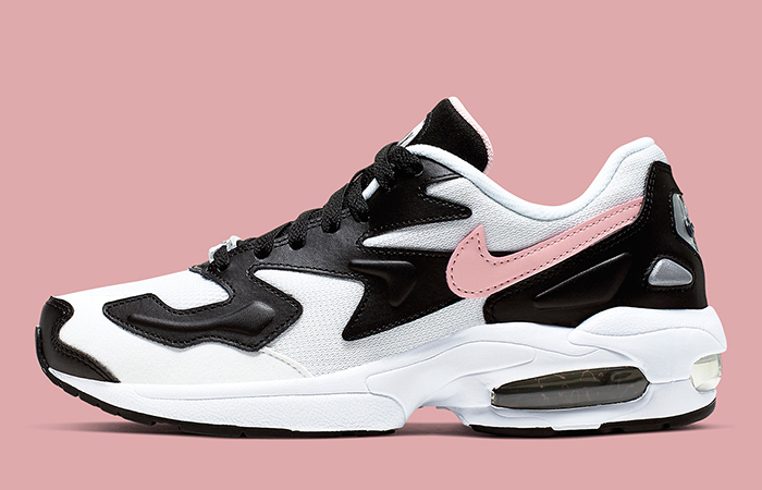 Nike's Air Max 2 Light Coming With A Pink Swooshes Combined To The Black and White ft