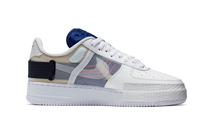 Nike Air Force 1 Low Type White CI0054-100 03