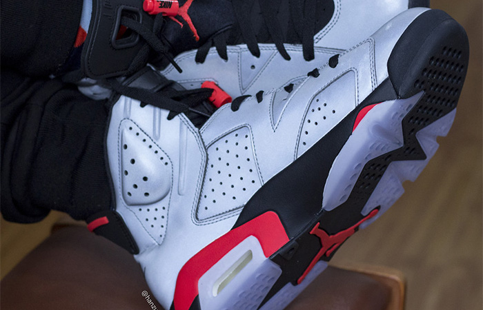 Nike Air Jordan 6 Reflective Silver CI4072-001 on foot 03