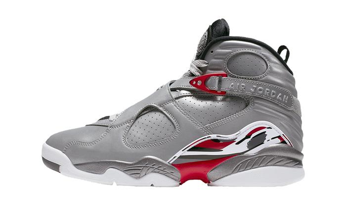 Nike Air Jordan 8 Reflective Silver CI4073-001 01