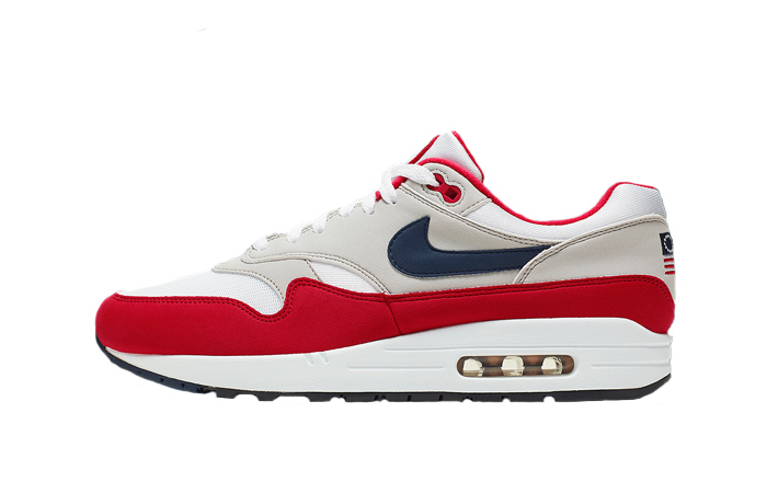 new arrival 43e6e 0f38a Nike Air Max 1 Independence Day CJ4283-100