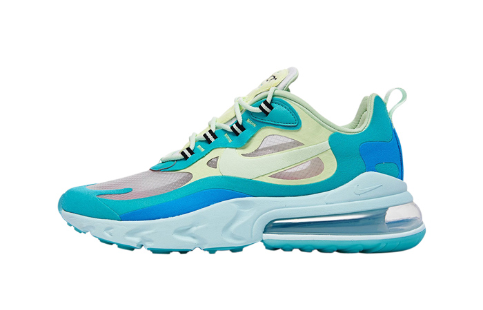 Nike Air Max 270 React Blue Mint AO4971-301 01