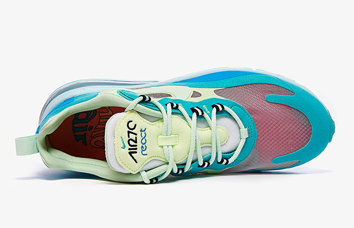 Nike Air Max 270 React Blue Mint AO4971-301