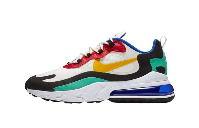 Nike Air Max 270 React Blue Multi AO4971-002 01