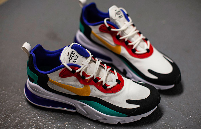 Nike Air Max 270 React Blue Multi AO4971-002 02