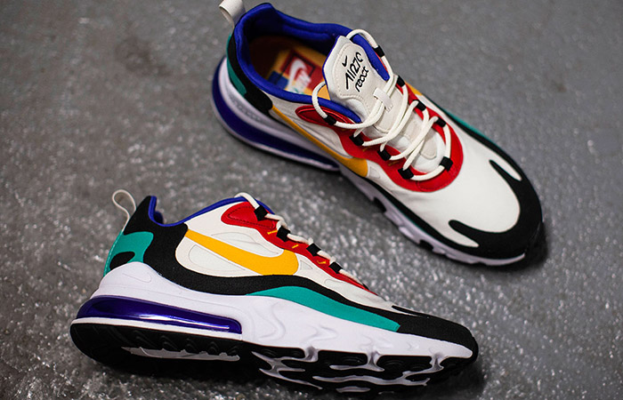 Nike Air Max 270 React Blue Multi AO4971-002 03