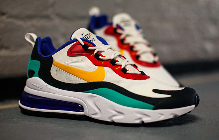 Nike Air Max 270 React Blue Multi AO4971-002