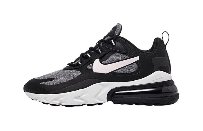 Nike Air Max 270 React Noir Black AO4971-001 01