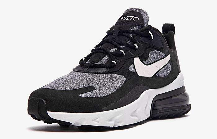 Nike Air Max 270 React Noir Black AO4971-001 02