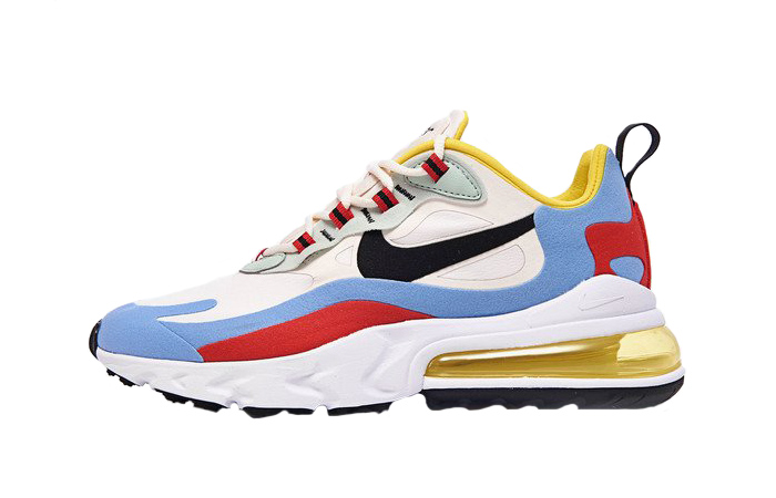 Nike Air Max 270 React Yellow Multi AT6174-002 01