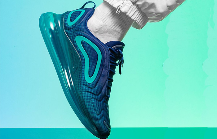 Nike Air Max 720 Blue Void AO2924-405 on foot 02