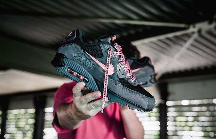 Nike Air Max 90 Premium Mixtape Black CI6394-001 02