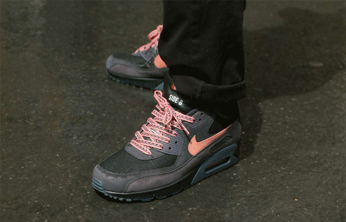 Nike Air Max 90 Premium Mixtape Black CI6394-001 on foot 01