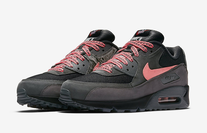 Nike Air Max 90 Premium Mixtape Black CI6394-001