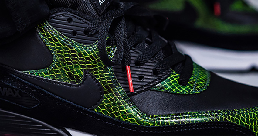 Nike Air Max 90 QS Green Python CD0916-001 02