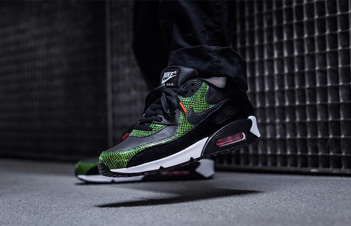 Nike Air Max 90 QS Green Python CD0916-001 02