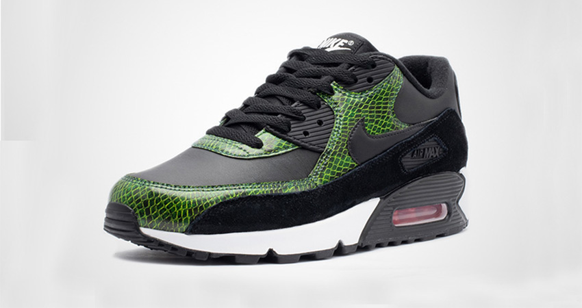 Nike Air Max 90 QS Green Python CD0916-001 04