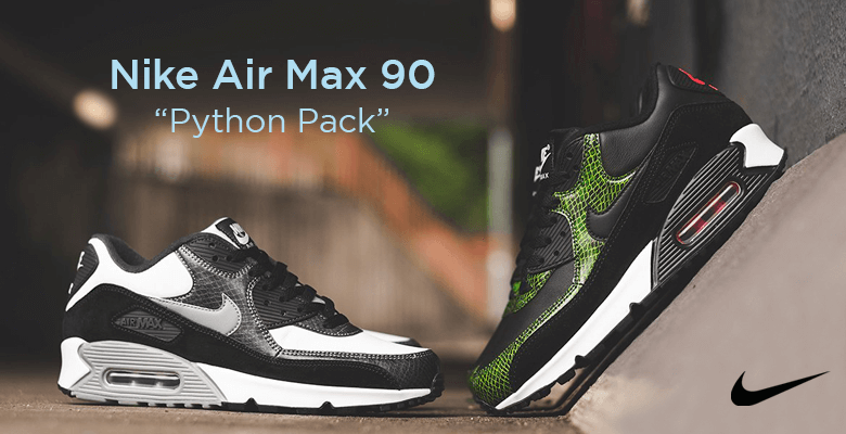 Nike Air Max 90 QS Python Pack CD0916-100 CD0916-001 FastSole UK Sneaker News and Release update
