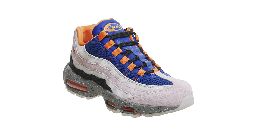 Nike Air Max 95 Trainers Champagne Orange