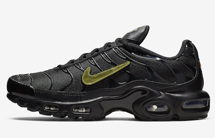 Nike Air Max Plus Is Releasing With Removable Metalic Gold Swooshes ft