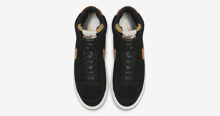 Nike Blazer Mid Vintage '77 Black Amber Rise Is Coming Soon 03